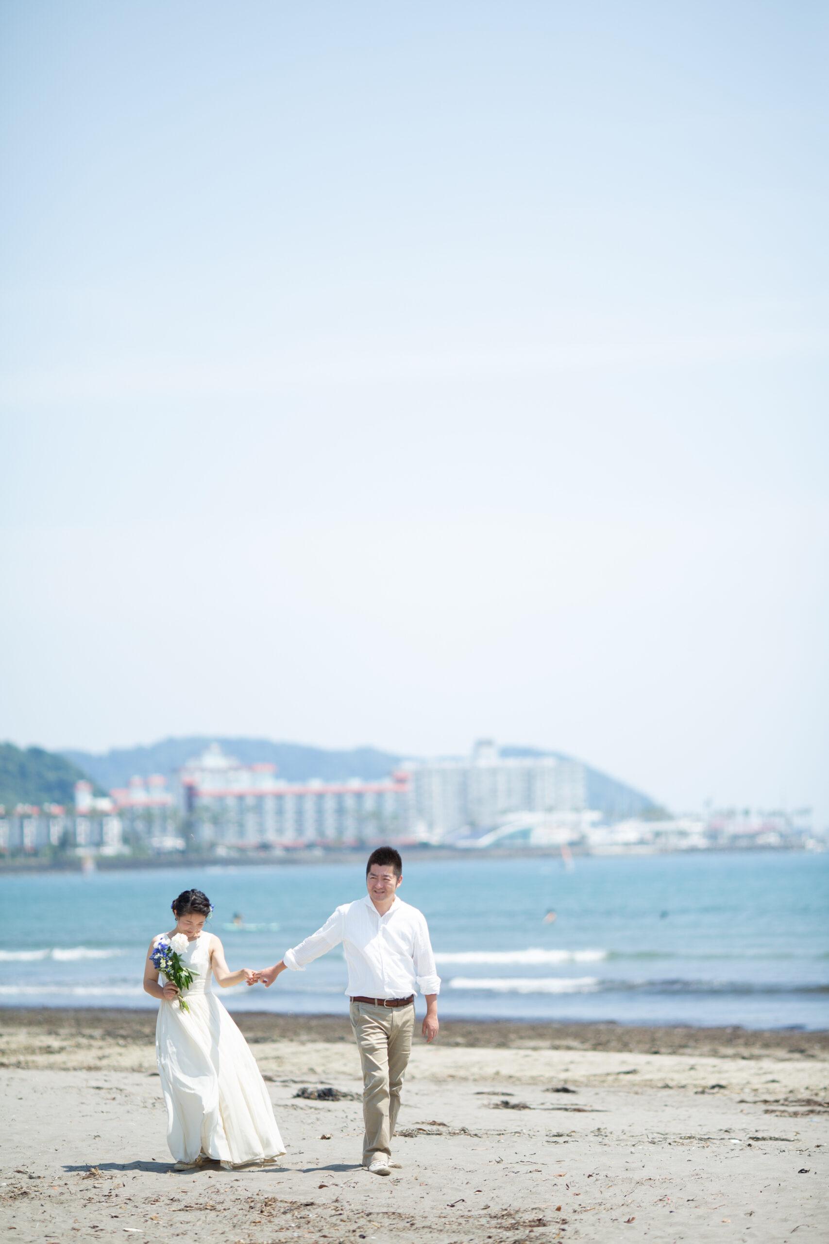 爽やかな海と緑とお庭と-M16